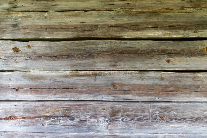 Old wood clapboard siding on abandoned house.  stock photo