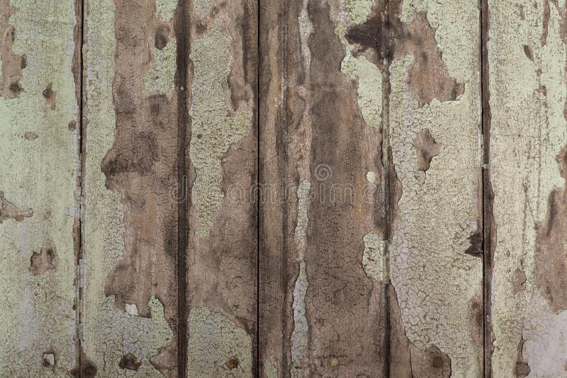 Old wood detail background. Surface eroded by time. The surface of the old stock image