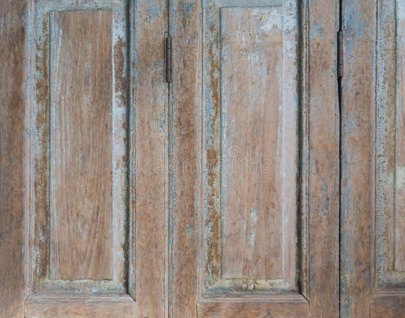 Old Wood Doors and Key lock photo stock photography