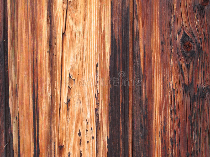 Old wood fence. Interesting patterns in old wood fence royalty free stock image