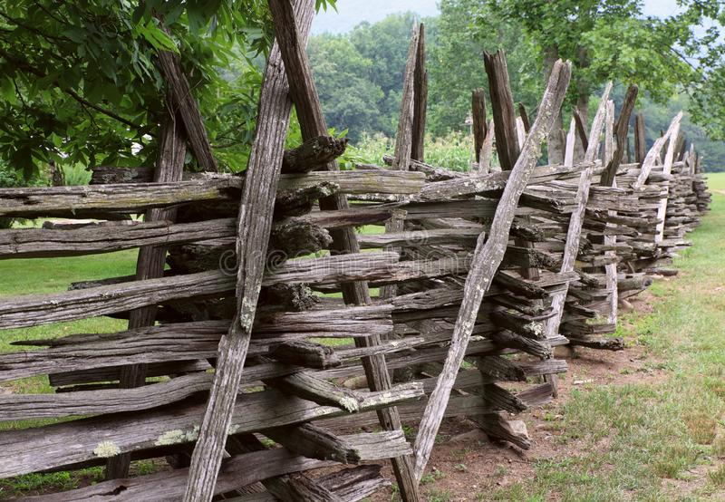 Download Old wood fence stock image. Image of border, country, wooden - 5985093