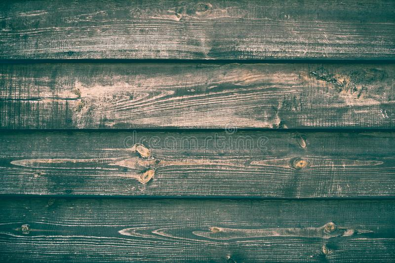 Old wood green and brown background texture. Retro wooden table. Vintage timber backdrop. Interior decoration. Grain timber. Rusti. C pattern of backdrop shabby royalty free stock photography