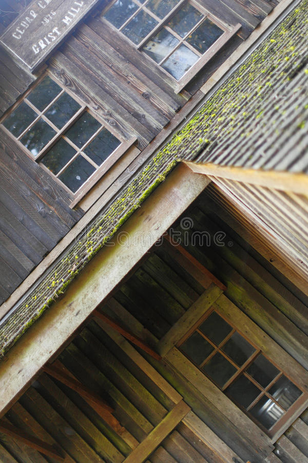 Old Wood Mill Stock Photography
