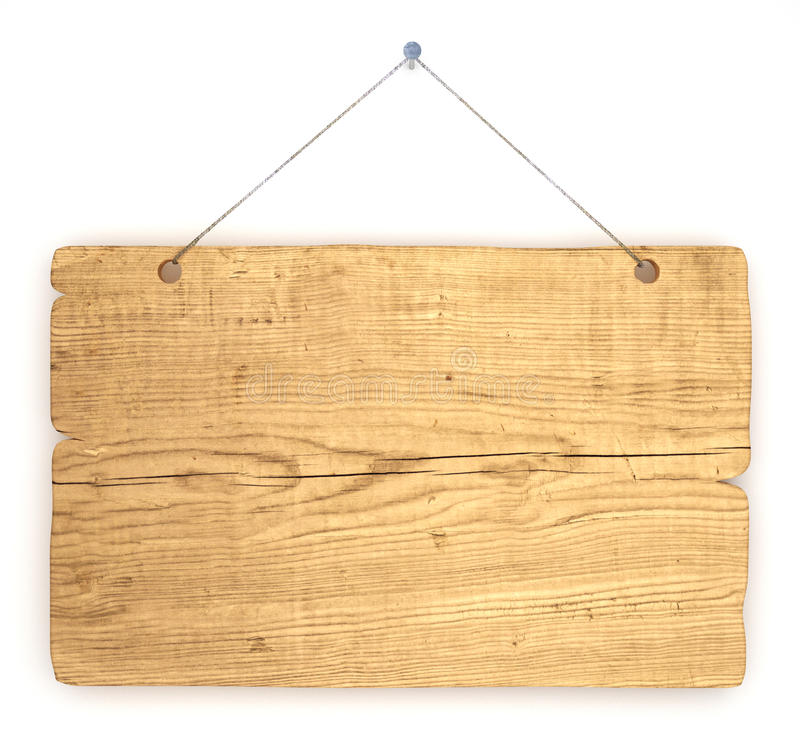 Download Old wood notice board stock illustration. Image of plank - 10502385