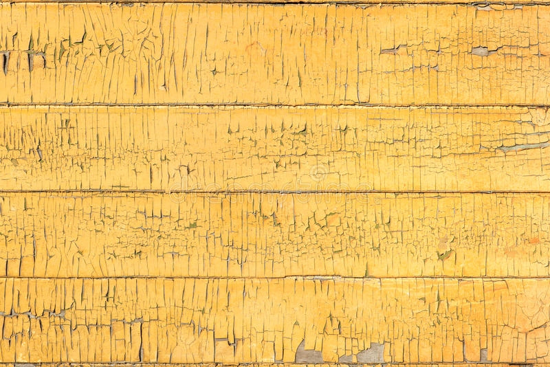 Horizontal Wood Fence Texture old wood painted board yellow fence texture stock photo - image
