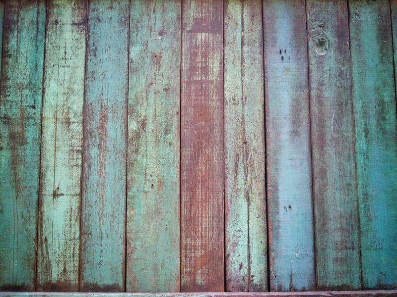 Old wood plank background and wallpaper. Old wood background and texture wallpaper royalty free stock photography