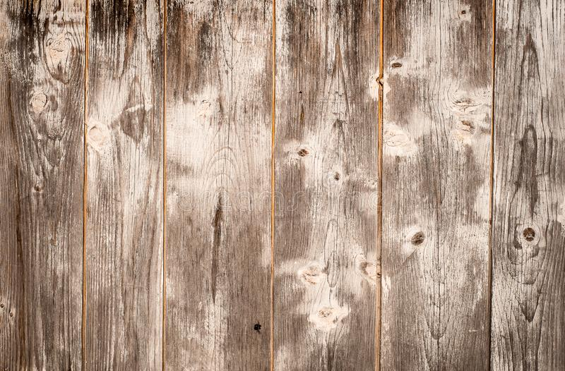 Old wood planks texture with white paint stock photo
