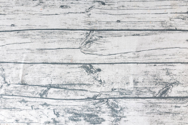 Old wood print tablecloth background texture. royalty free stock image
