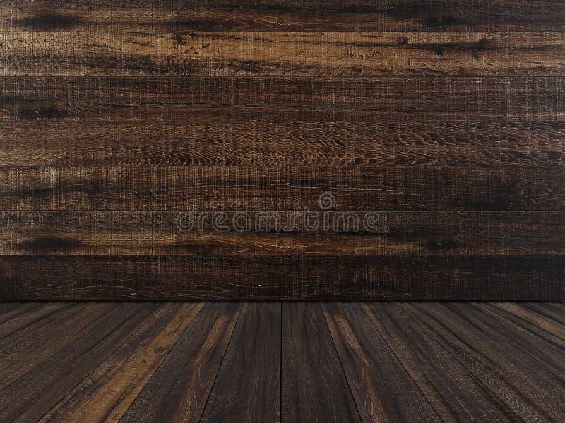 Old wood surface. High resolution. 3D render vector illustration