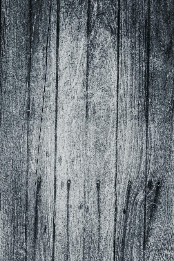 Old Wood table surface top view natural patterns black and white royalty free stock photos