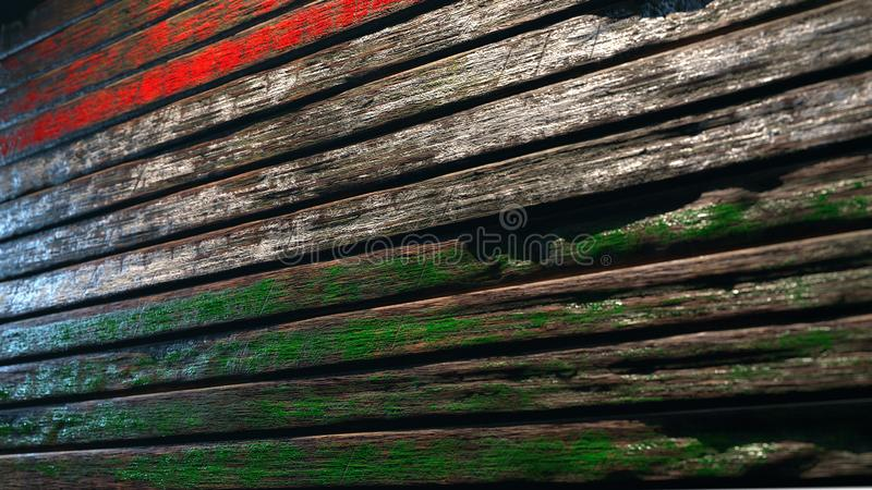 Old wood texture background apocalypse royalty free illustration