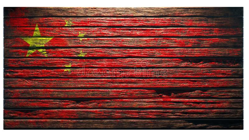 Old wood texture background royalty free illustration