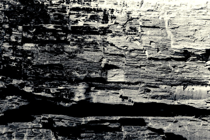 Old wood texture black and white background stock photography