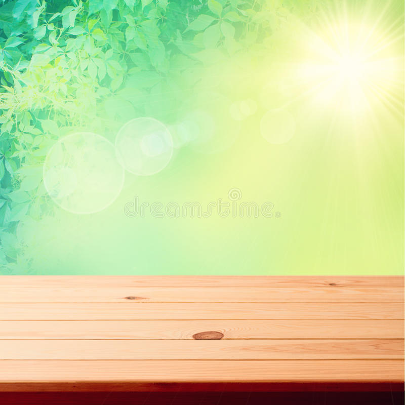 Old wood texture. Floor surface closeup stock photography