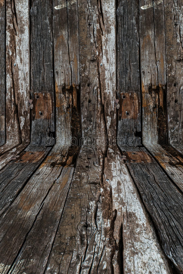 Old wood use as natural background royalty free stock photo