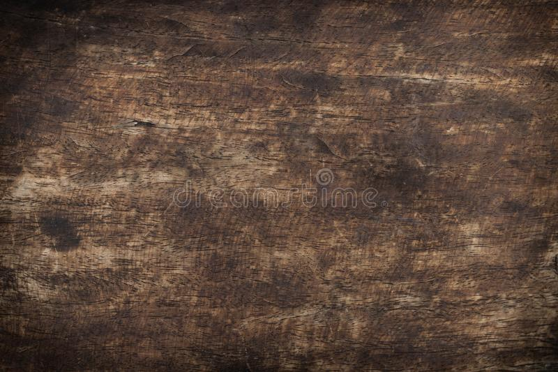 Old wood used brown panels texture background royalty free stock photography