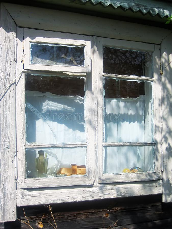 Download Old wooden barn window stock photo. Image of building - 9348578