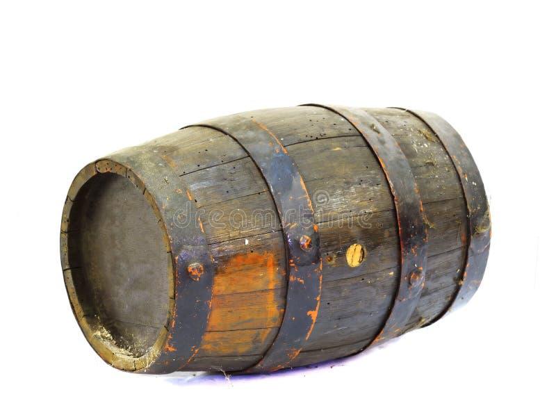 Old Wooden Barrel Stock Images