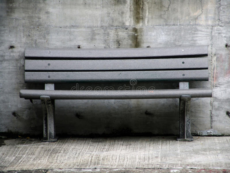 Download Old wooden bench stock photo. Image of outside, empty - 16011608