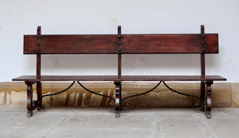 Download Old wooden bench stock photo. Image of stained, clipping - 83716468
