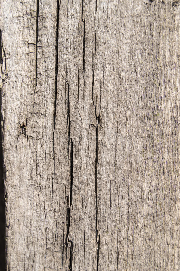 Old wooden Board with cracks, texture background stock images