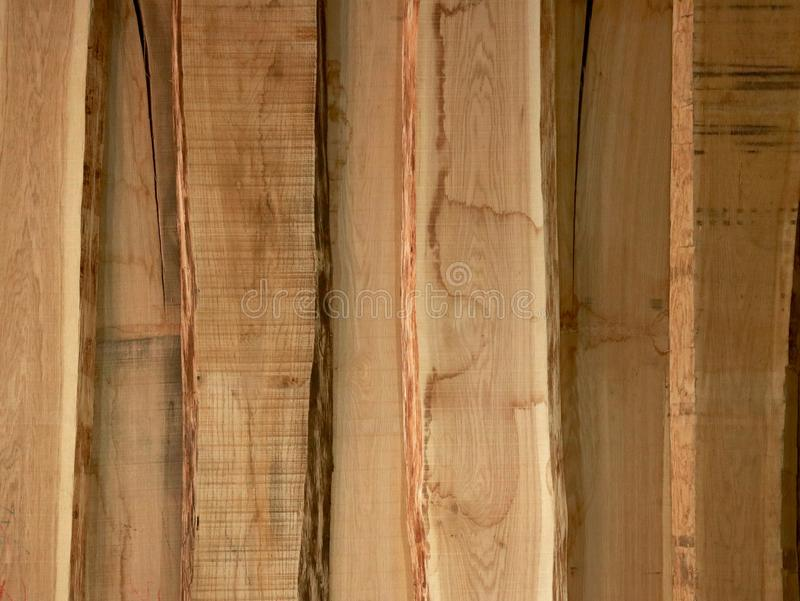 Light wooden boards as a background stock images