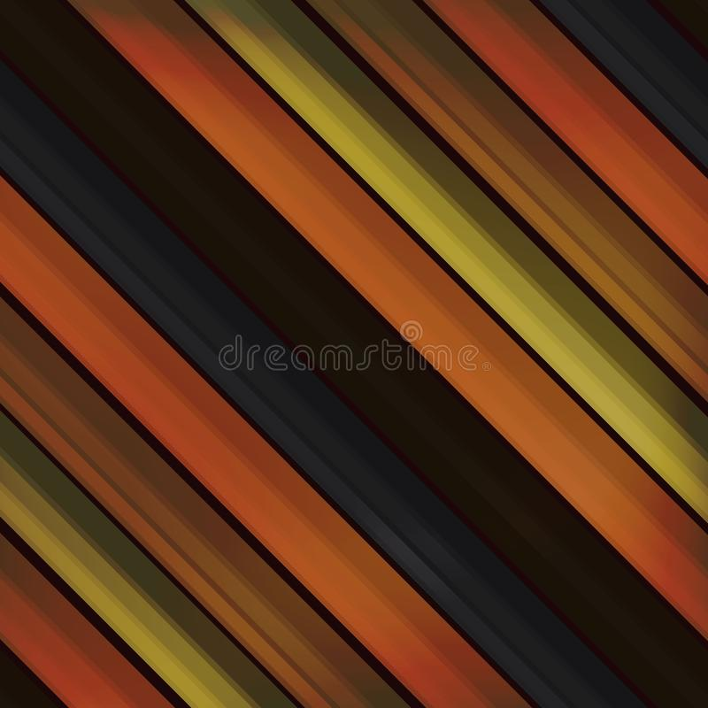 Old wooden boards in the form of lines, seamless background. autumn background of natural wood in the style of realism. realistic. Old wooden boards in the form royalty free illustration