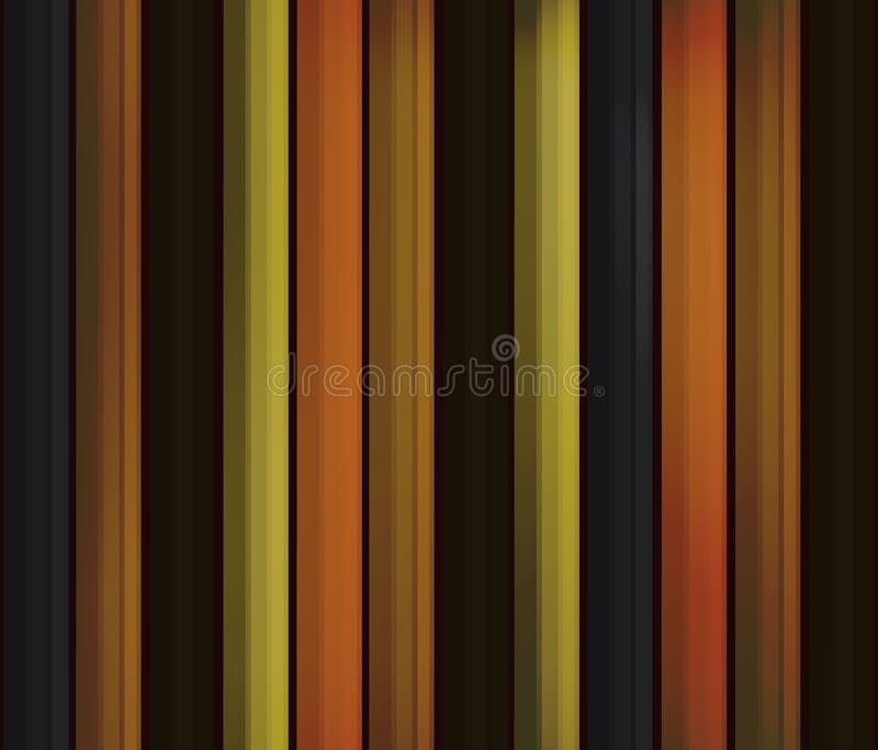 Old wooden boards in the form of lines, seamless pattern. autumn background of natural wood in the style of realism. Old wooden boards in the form of strips stock illustration