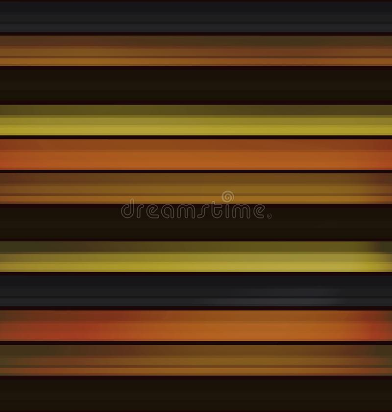 Old wooden boards in the form of lines, seamless pattern. autumn background of natural wood in the style of realism. realistic. Old wooden boards in the form of royalty free illustration