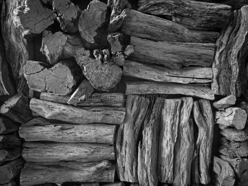 Old wooden boards. stock image