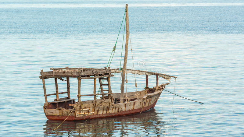 Download Old wooden boat stock image. Image of africa, ocean, island - 36577641