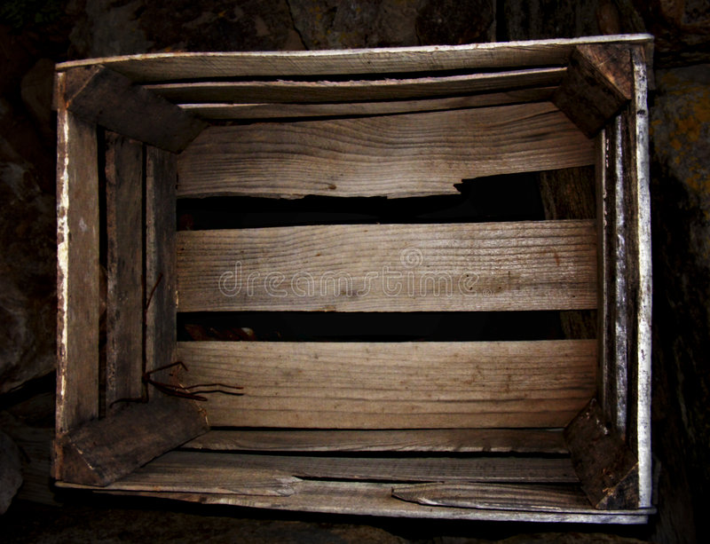 Download Old wooden box stock image. Image of antique, natural - 8948095