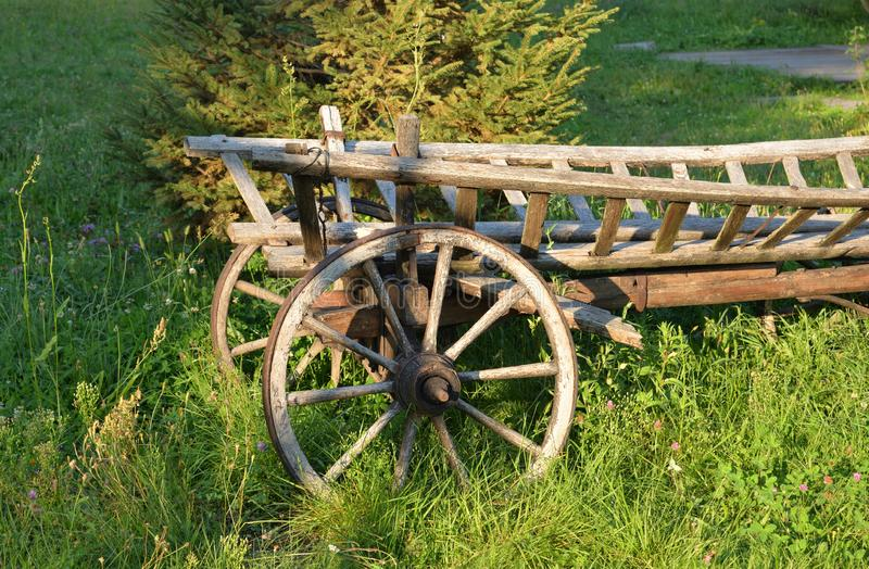 Old Antique Wagon Stock Image. Image Of Country, Rusty