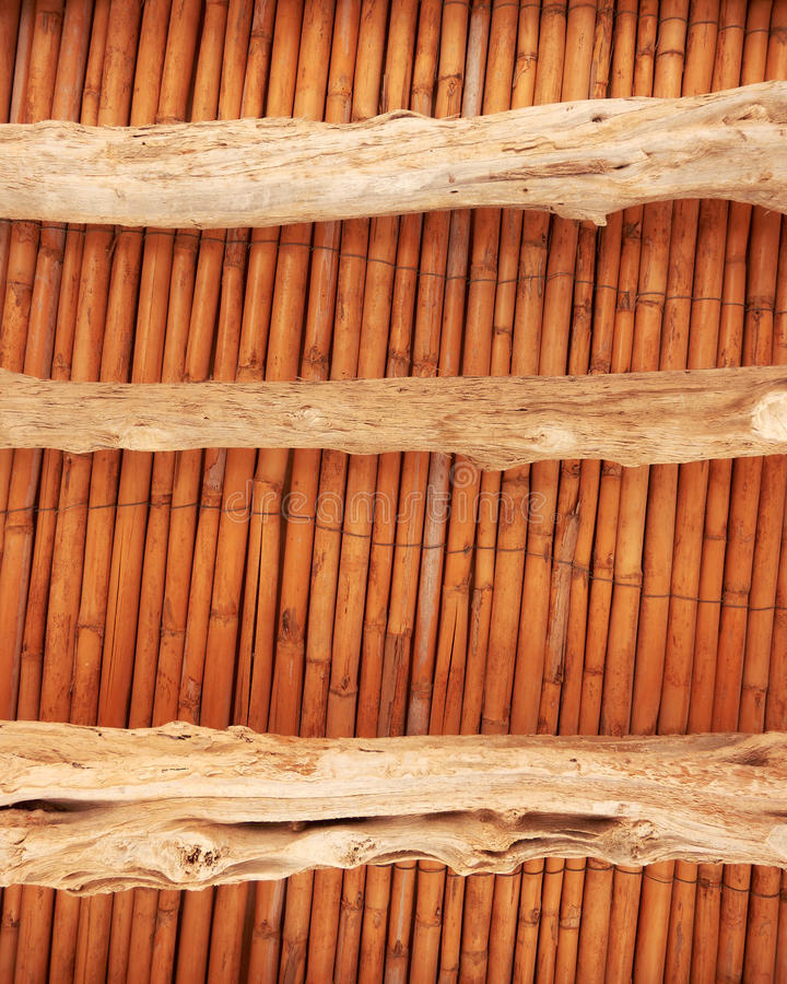 Download Old Wooden Ceiling Restored Stock Image - Image: 21070007