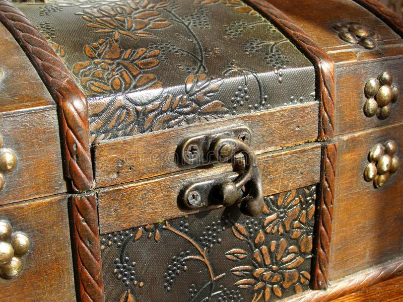 Download Old wooden chest stock photo. Image of extraordinary - 24046624