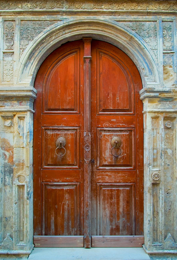 Download Old wooden door stock photo. Image of medieval, outdoors - 11318522