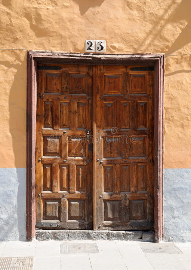 Download Old wooden door stock photo. Image of ancient, entrance - 11319970
