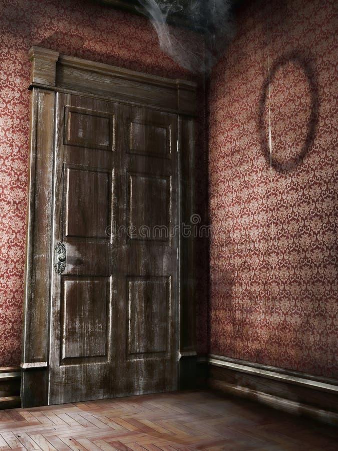 Free Old Wooden Door Royalty Free Stock Photos - 41218378