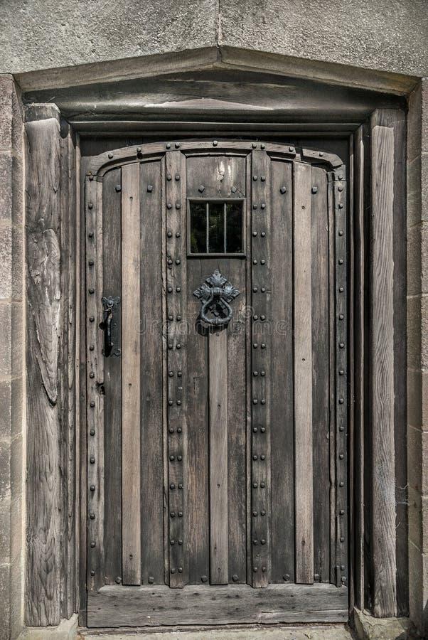 Download Old Wooden Door stock image. Image of weathered, knocker - 35890893