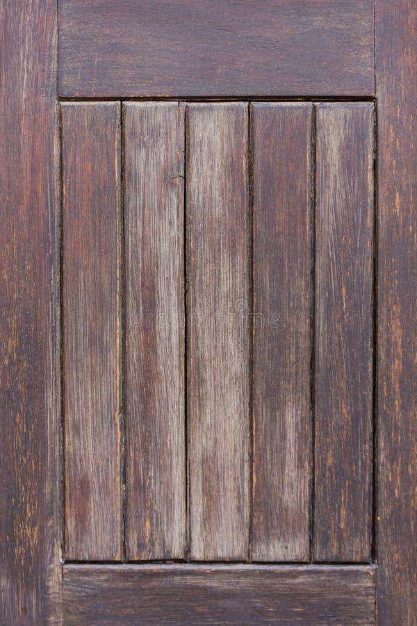 Old wooden door panel royalty free stock image