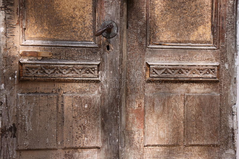 Download Old wooden doors stock image. Image of ancient, building - 11744703