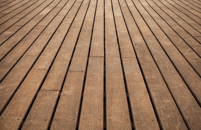 Old wooden floor. Background photo texture. Old wooden floor perspective. Background photo texture stock images