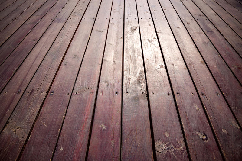 Old wooden Floor Boards stock photos