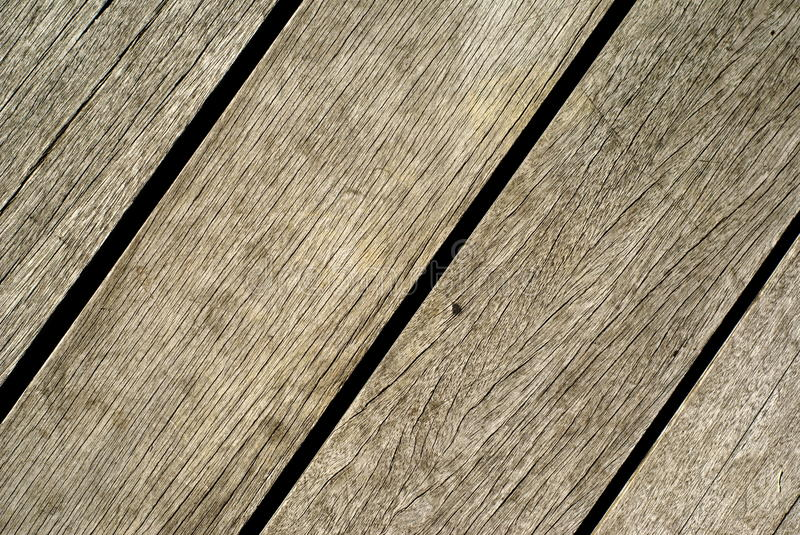 Old wooden flooring stock photography