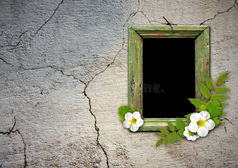 Download Old wooden frame stock illustration. Image of nature - 17615049