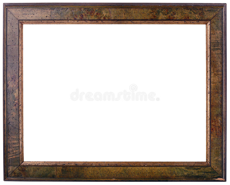 download old wooden frame cutout stock image image of brown cutout 28734275 - Wooden Frame