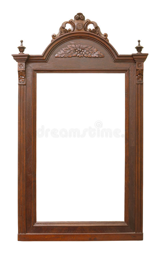 Free Old Wooden Frame With Carvings Stock Image - 17992151