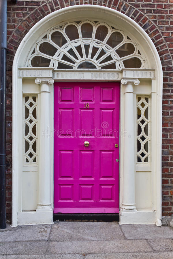 Download An Old Wooden Georgian Door Of Dublin Stock Image - Image of architecture classic : georgian door - pezcame.com