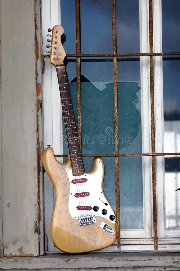 Download Old wooden guitar stock image. Image of equipment, sound - 21574505