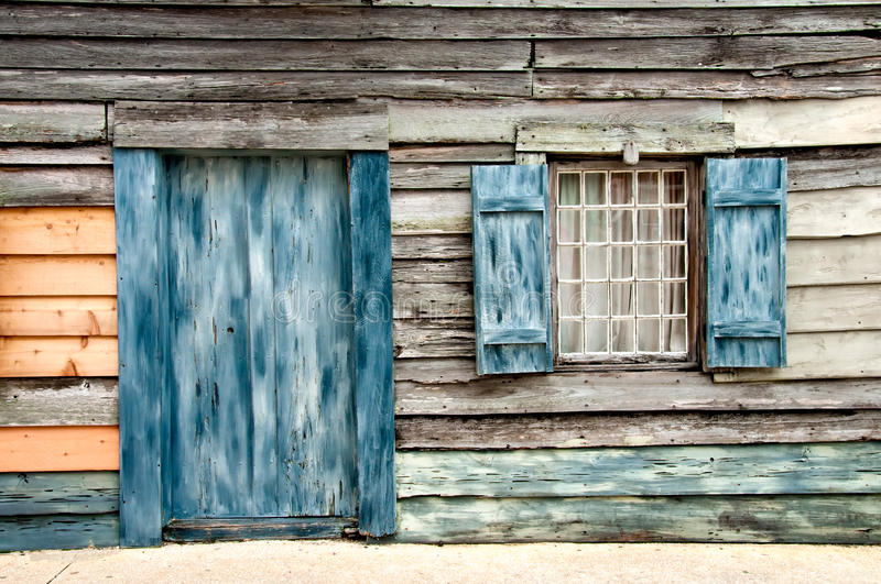 Download Old wooden home stock image. Image of cottage, defense - 12483177